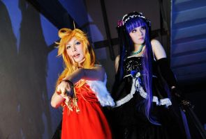 Panty and Stocking by AONE99