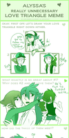 Love Triangle Meme by So-and-so456