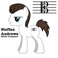 Steffan Andrews OC Pony by BoxedSurprise