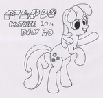 MLPDS-InkTober #30 by Uber--Dragon