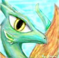 Green Dragon by Eternalskyy