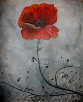 The Poppy (another version) by DelliriumTremens