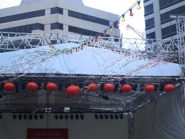 CNY: Rainbow Streamers by Caddles
