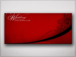 Wedding invitation by NorthFac3