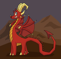Torchy the Dragon by OEmilyThePenguinO