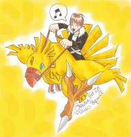 Piano Squall Chocobo ride by Yuffie1972
