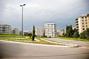 Fribourg Suburb I by mister-softy