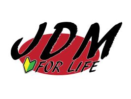 JDM For Life Logo by inizilla