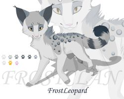 FrostLeopard Reference by Whimsy11