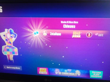 first time playing Just Dance  by zetaSuceava