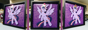 Shadowbox: Alicorn Twilight by The-Paper-Pony