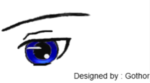 Anime Eye Practice by Devious-Archangel