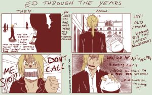 FMA: Ed Through The Years by Sandrenny