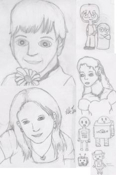 People and Robots by Stargirll