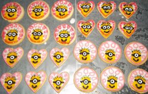minion cookies by marandaschmidt