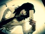 Epic Selfie - Jeff the Killer by Roxxi980