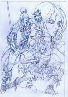 soul calibur fan-art practice sketch by emmanuelxerxjavier