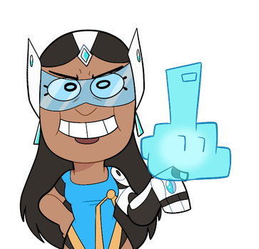 Symmetra's New Taunt by itsaaudra