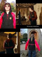 Harry Potter Tri Wizard Hoodie by CreativeSoup