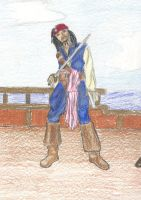 Jack Sparrow Colored by DeltaVT