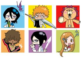 chibi Bleach: Ichigo group by WTE