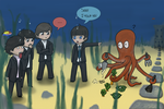 Beatles Octopuses have gardens by ravengrimm
