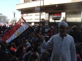 Egyptian Revolution 24 by Magdyas