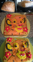Lion King Cake by R-A-W-R