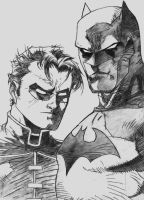 Batman and Robin by l--unbound--l