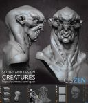 Creature Design by VertexBee