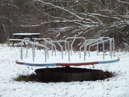 Winter Merry-Go-Round by Sir-Real