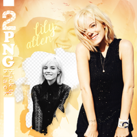 PNG PACK (141) Lily Allen by DenizBas
