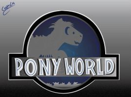 JURASSIC WORLD MLP logo by chiimich