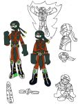 Ermac drawing by Selecthumor
