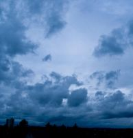blue clouds III by little-one-girl