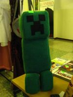 Plush Creeper by chu-po-po