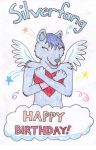 Happy (Belated) Birthday, Silverfang! by Fraiva
