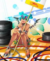 Racing Miku Sepang by Eroji