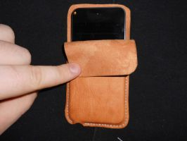 Ipod case, leather. not finished by MonsterWhacker