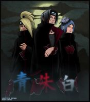 Akatsuki - colored by Lee-nus by free-energy03