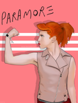 Hayley Williams of Paramore by Sixxxxx