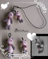 Couple of Panda Charms by Beca1591