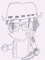 Team Fortress 2 - Sniper PipGirl Style by Keigenx