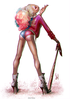 Harley Quinn, Suicide Squad movie version by SolDevia