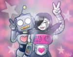 Roboton and Mettaton by taytaym2