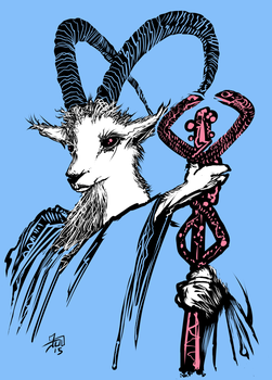Therapy Goat by JDDuncan
