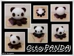 OctoPanda Plush by SongAhIn