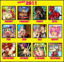 Summary of art 2011 by XXAnemia