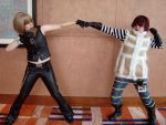 Brofist - Matt and Mello by Tea-is-for-TomTom