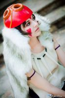 Princess Mononoke San by lovelyyorange